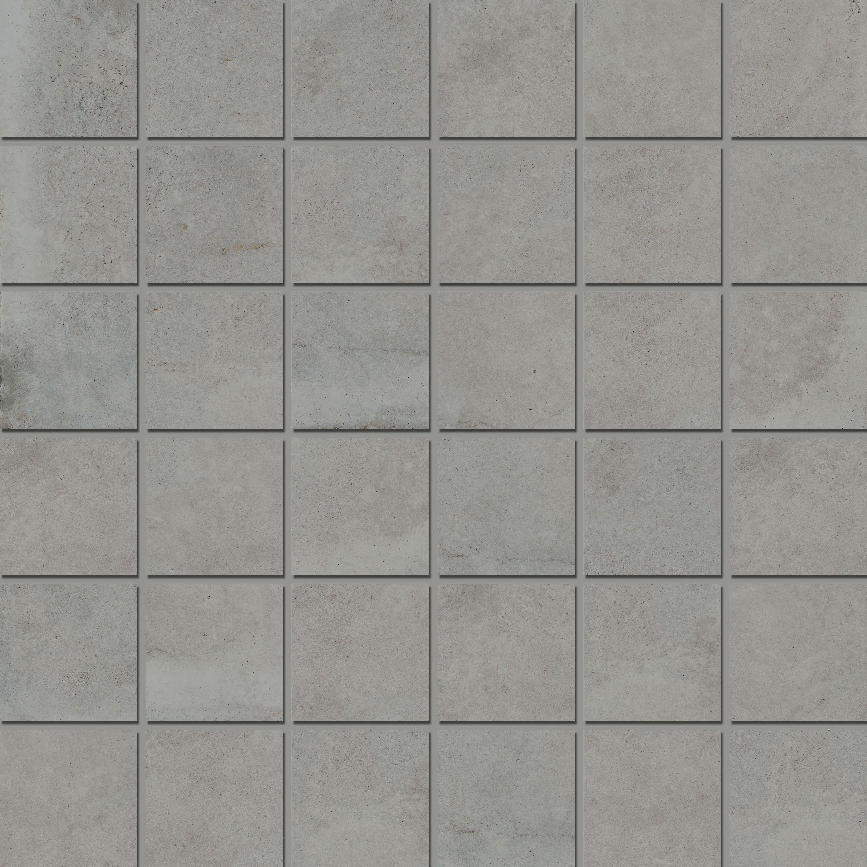 Mosaic 4,7x4,7 Soft Iron