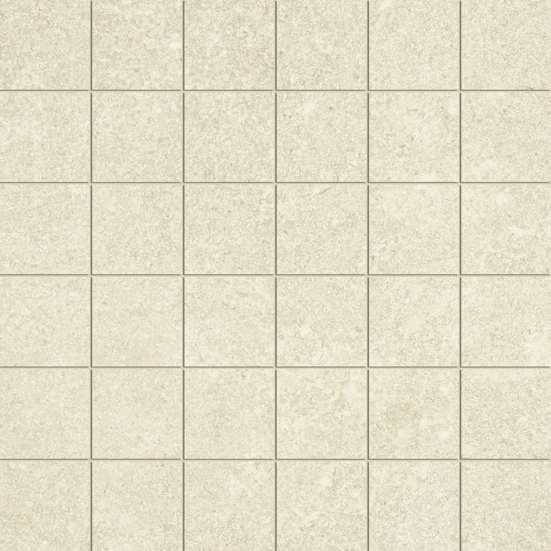 weiß Mosaik, white mosaic 30x30