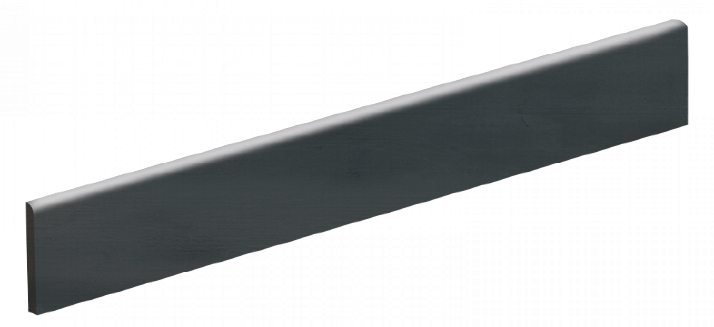 Bullnose Zinc Titanium Sleek