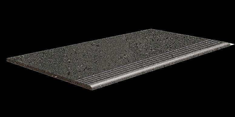 dunkel grau Stufe, dark grey step